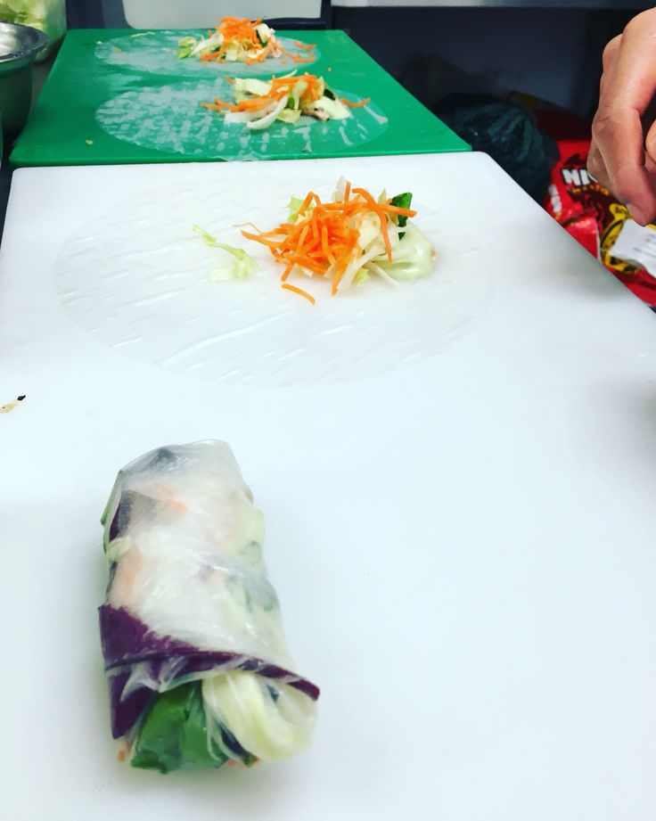 Our Fantastic Vietnamese Rice Paper Rolls Are Made Fresh By Hand Every Day In Branch And