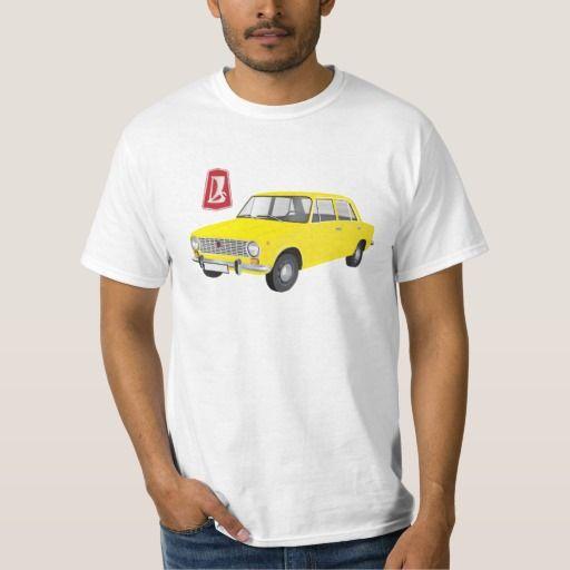 VAZ-2101 Lada 1200 DIY (yellow)   #lada #vaz-2101 #badge #tshirt #automobile #classic