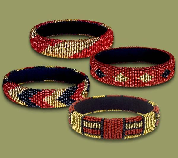 #BEADEDBANGLETHIN - #Beadedbangles are made from pure #beads.