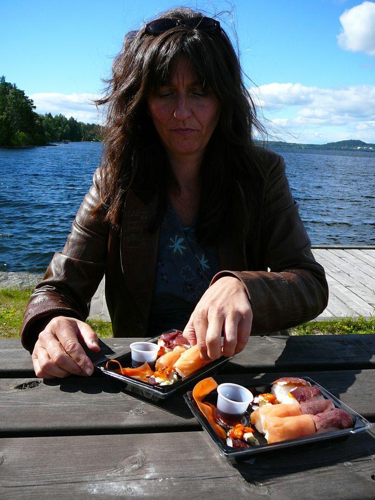 Sushi-picknick ;)