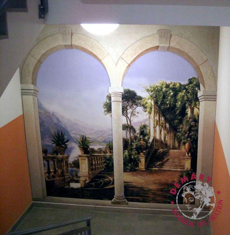 Oltre 25 fantastiche idee su pareti interne su pinterest elemento distintivo di pareti muri - Decorazione pareti interne ...