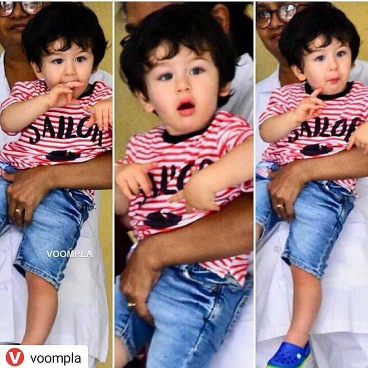 Kareenakapoorfanclub Kareenabebo Kareenakapoor Kareena Kareenakapoorkhan Mylove Kareenakapoor Baby Boy Dress Baby Boy Outfits Taimur Ali Khan