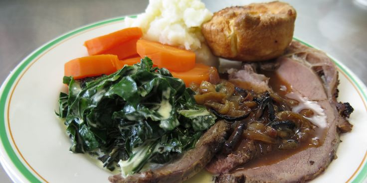 Roast Topside with Gravy, Yorkies and Creamed Silverbeet - Lifestyle FOOD