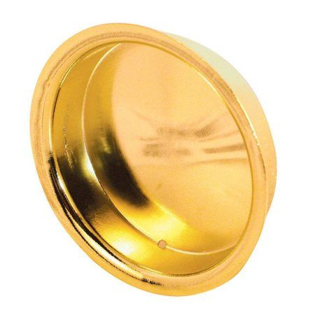 Slide-Co 163138 Bypass Door Pull Handle, Brass Plated,(Pack of 2), Multicolor