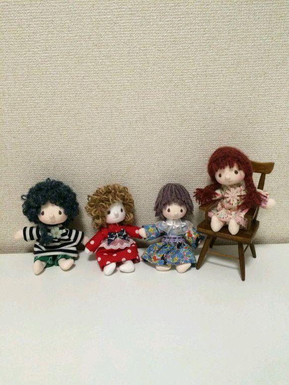 ハンドメイド人形セット|人形|ナナ|ハンドメイド通販・販売のCreema