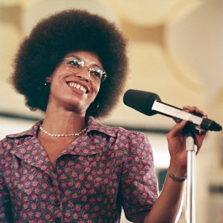 Angela Davis, Berlin, 1973 by Thomas Billhardt