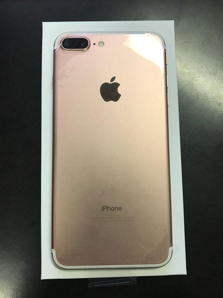 Apple iphone 7 plus 128gb rose gold unlocked new iphone