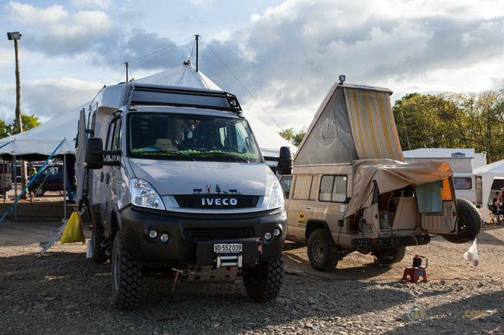 40 best iveco 4x4 camper caravan images on pinterest for Garage jeep nantes