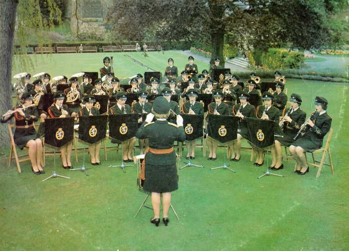 Band of The Women's Royal Army Corps around 1977