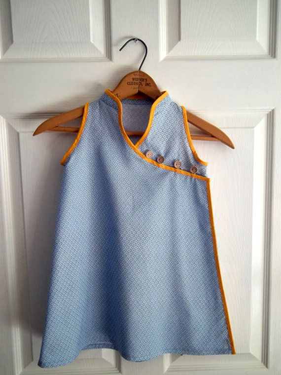 Newly posted, Mandarin Dress for a child, size 4.