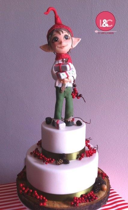 Elf Cake  Cake by Lifeandcakes