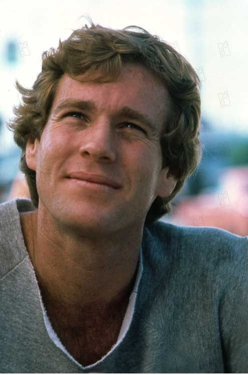 Ryan O'Neal- hasn't aged fabulously, but wasn't bad at all back in the day...