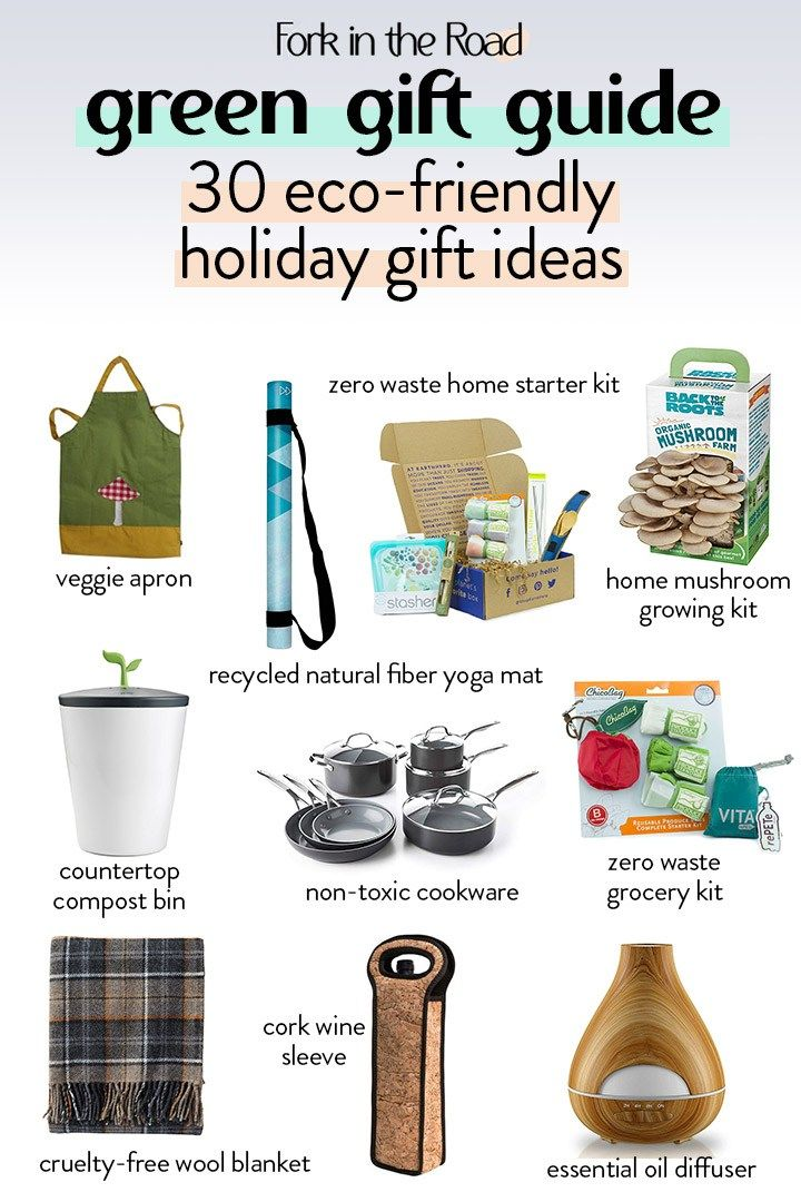 Green Gift Guide Eco Friendly Holiday Gift Ideas For 2018