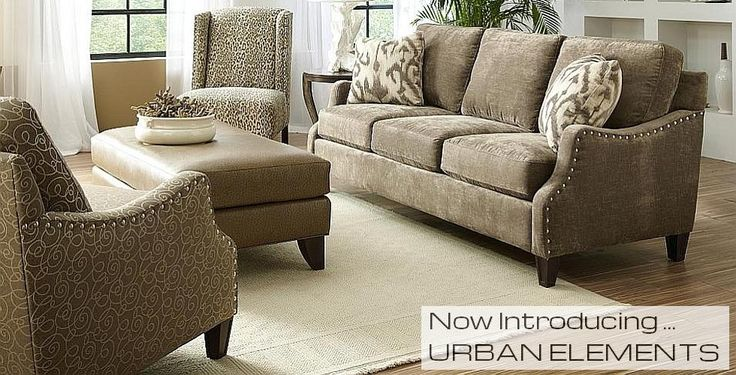 Custom made sofas, loveseats and chairs by Craftmaster Furniture.