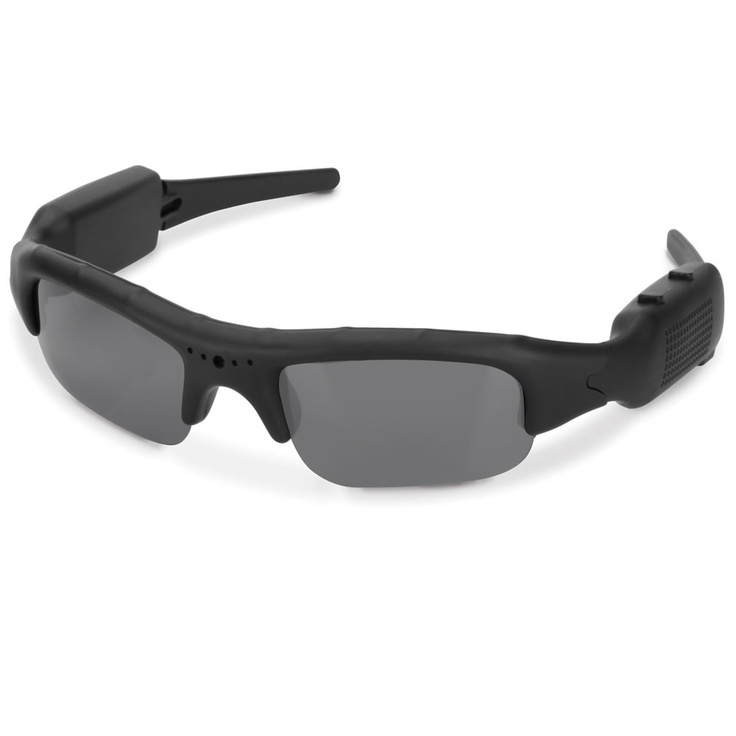 polarized sunglasses that record high-definition video from the wearer's point of view