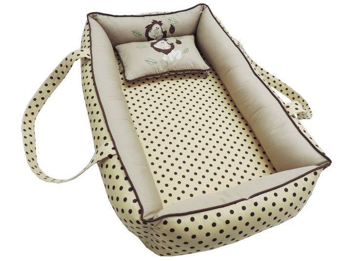 O ninho foi desenvolvido pensando no acolhimento do bebê ao sair do conforto e aconchego da barriga da mãe. Arremete ao conforto, passa sensação de segurança ao bebê, o que garante um sono tranquilo desde os primeiros dias de vida. Pode ser usado no berço, e se for dormir fora é indispensável, ...