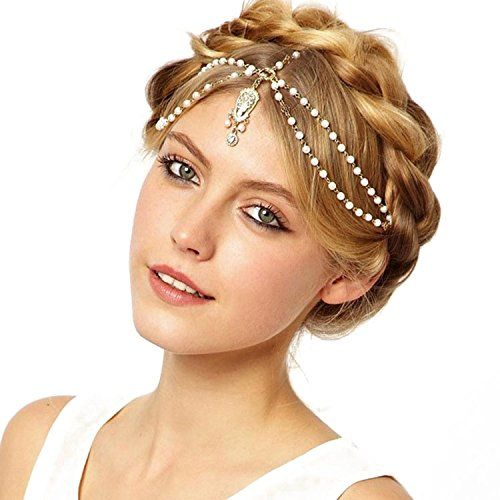 JoJo&Lin Teardrop Beaded Hairband Headband Head Chain Hair Jewelry Hair Accessories Head Jewelry JoJo & Lin http://www.amazon.com/dp/B016PPMGNC/ref=cm_sw_r_pi_dp_MSuOwb0N2QYC4