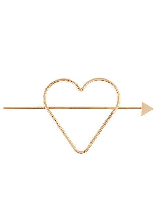 cd5c7895d Heart Hair Stick | Gold | One Size | 6862918100 | Accessorize ...