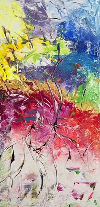A joyride of swirling colours into your imagination.