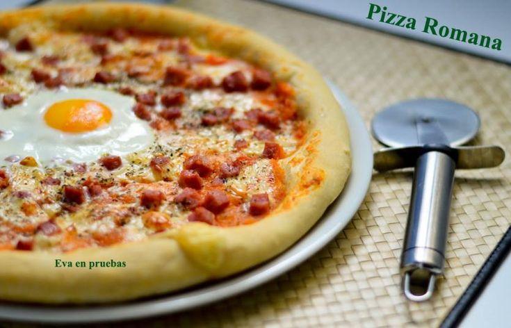 Receta de Pizza romana | Eureka Recetas