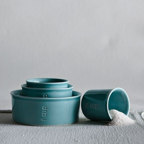 Sea Measuring Cups - Can also be used as serving pieces.
