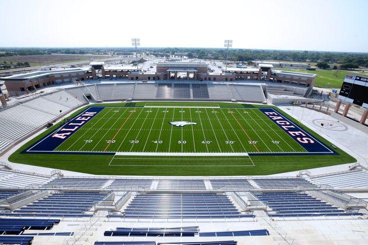 Dallas suburb boasts new 60 million stadium for high