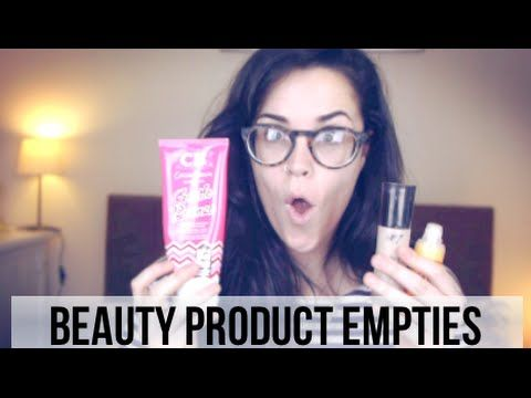 Hey guys! This is my first ever empties video, wahoo! In this video I show you beauty products that I have used up and really like but also ones that I am th...
