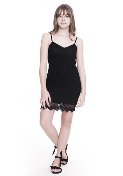FABRICANTE  Amofany Coleção larissa Manoela CÓD  T600171 Descrição  -  vestido teen em renda 301825743d