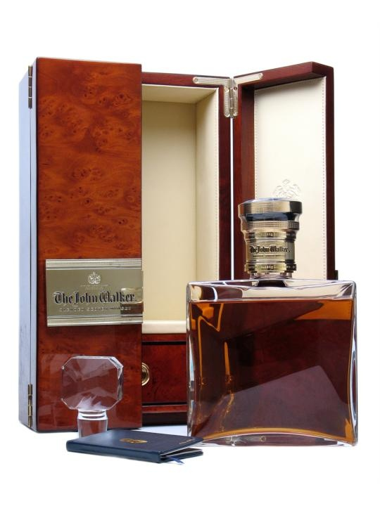 The John Walker / Baccarat Crystal Decanter : Buy Online - The Whisky Exchange - Released towards the end of 2010, The John Walker is an ultra-premium expression of Johnie Walker Blue Label, crafted using some of the very oldest whiskies available from Diageo's vast maturing st...