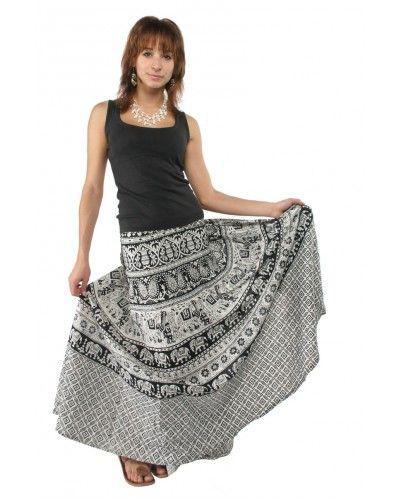Длинные летние юбки в этническом стиле - юбки в пол или юбки по щиколотку