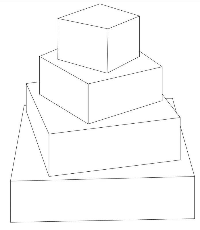 Comfortable Wedding Cake Box Template Images Resume Ideas - Wedding Cake Outline
