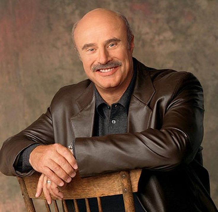 Dr Phil McGraw ~ Born Phillip Calvin McGraw September 1, 1950 (age 65) in Vinita, Oklahoma, US. American television personality, author, psychologist, and the host of the television show Dr. Phil, which debuted in 2002. McGraw first gained celebrity status with appearances on The Oprah Winfrey Show in the late 1990s.