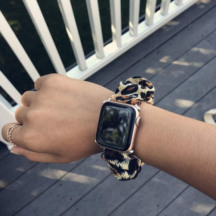 Cheetah Print Apple Watch Scrunchie Accessory, Scrunchie Watch Band, Apple  Watch Scrunchie Band This is an aff… in 2020 | Watch bands, Apple watch  series 1, Apple watch