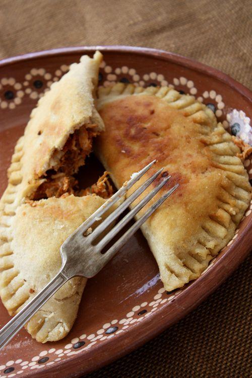 Molotes (Oaxacan Masa Empanadas) - Look delicious, and I love empanadas, and gorditas, so we will behaving these very soon!