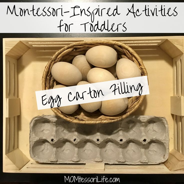 Montessori-Inspired Activities for Toddlers — Egg Carton Filling