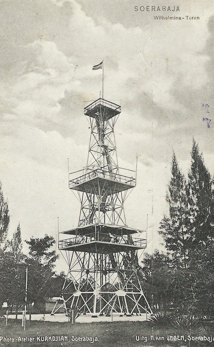 Wilhelmina - Toren ~ Surabaya