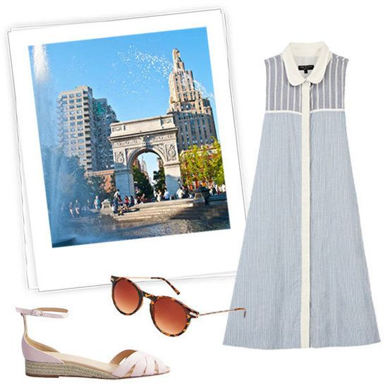 Don't know what to pack for your next getaway? Here are fun travel looks that will keep you looking chic on your  vacay. #FashionNews