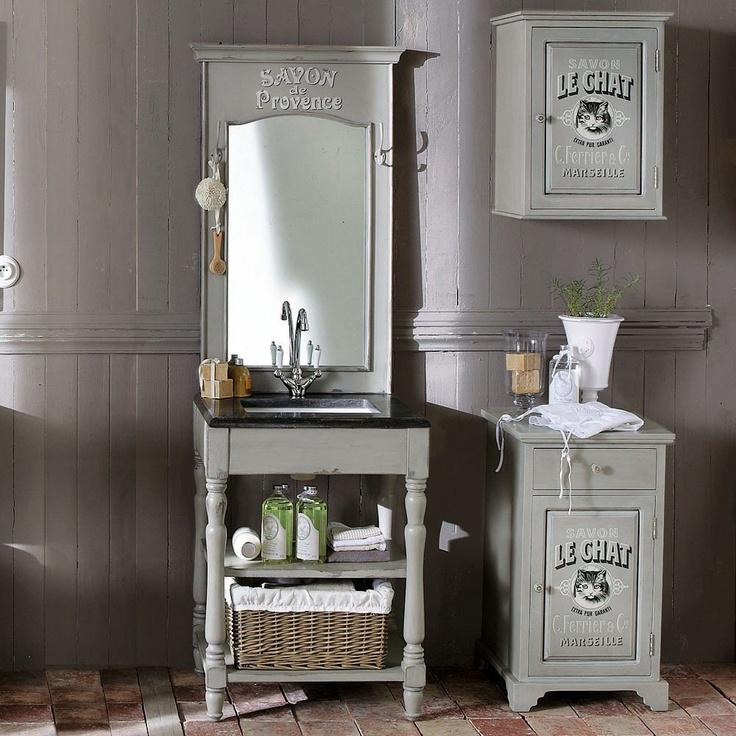 meuble une vasque salle de bain br saint rmy