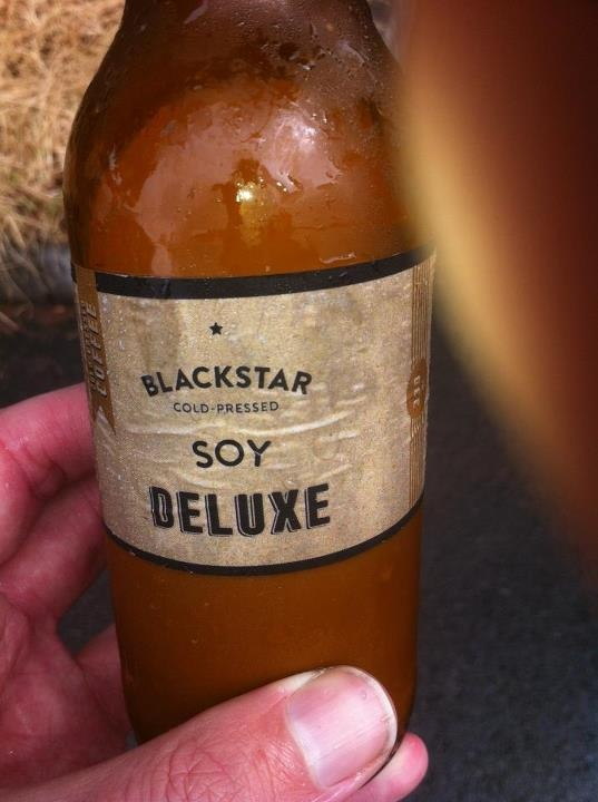 Cold Pressed Soy Coffee from Black Star Coffee @ West End