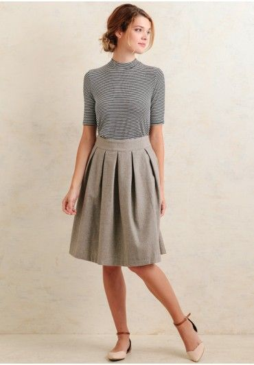 Quinn Tweed Skirt | Modern Vintage New Arrivals | Ruche