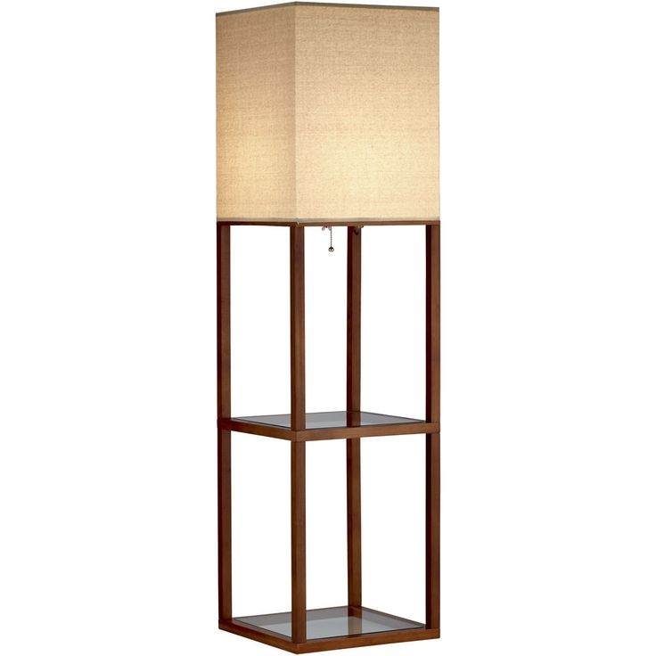 Adesso crowley shelf floor lamp lighting s