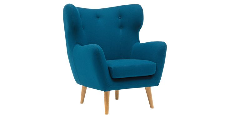 Jarl Fabric Armchair from Domayne Online