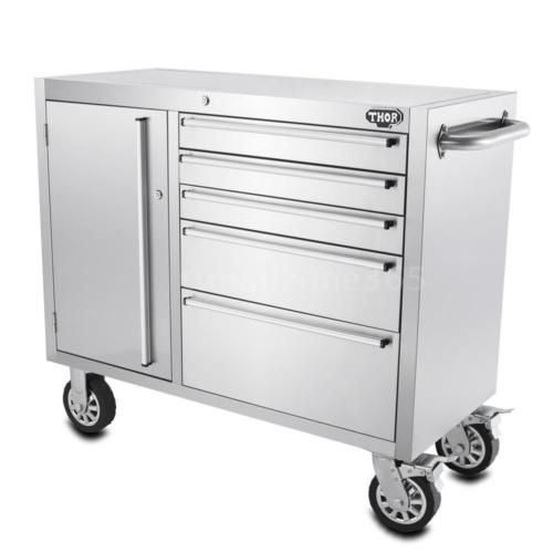41-48-72-Inch-Stainless-Steel-Rolling-Tool-Chest-Tool-Box-Work-Bench-Roller-E3R8