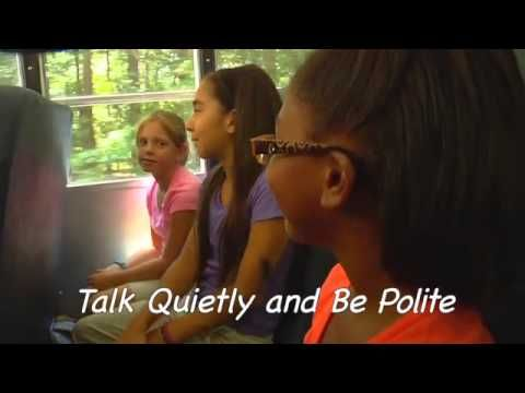 Let's Go Walking! Lesson 4: School Bus Safety - YouTube