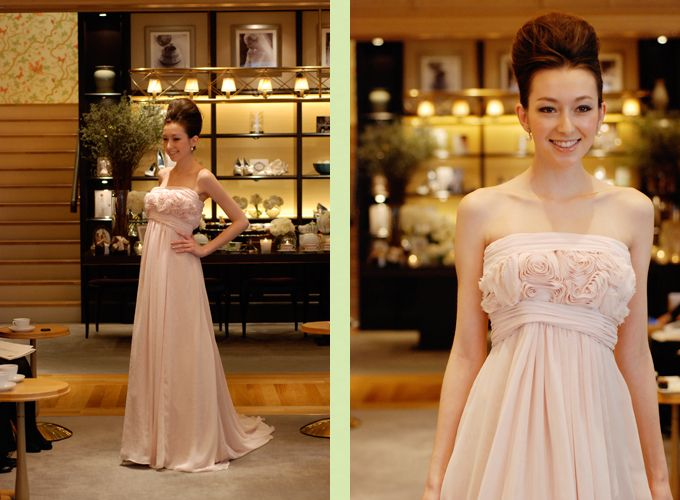 『THE TREAT DRESSING カラードレス』