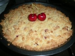 Cherry Crumble. The very name sounds delicious, doesn't it? This lens shows you how to make a cherry crumble with a step by step fresh cherry...