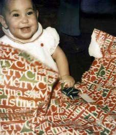 Laci Peterson at Christmas