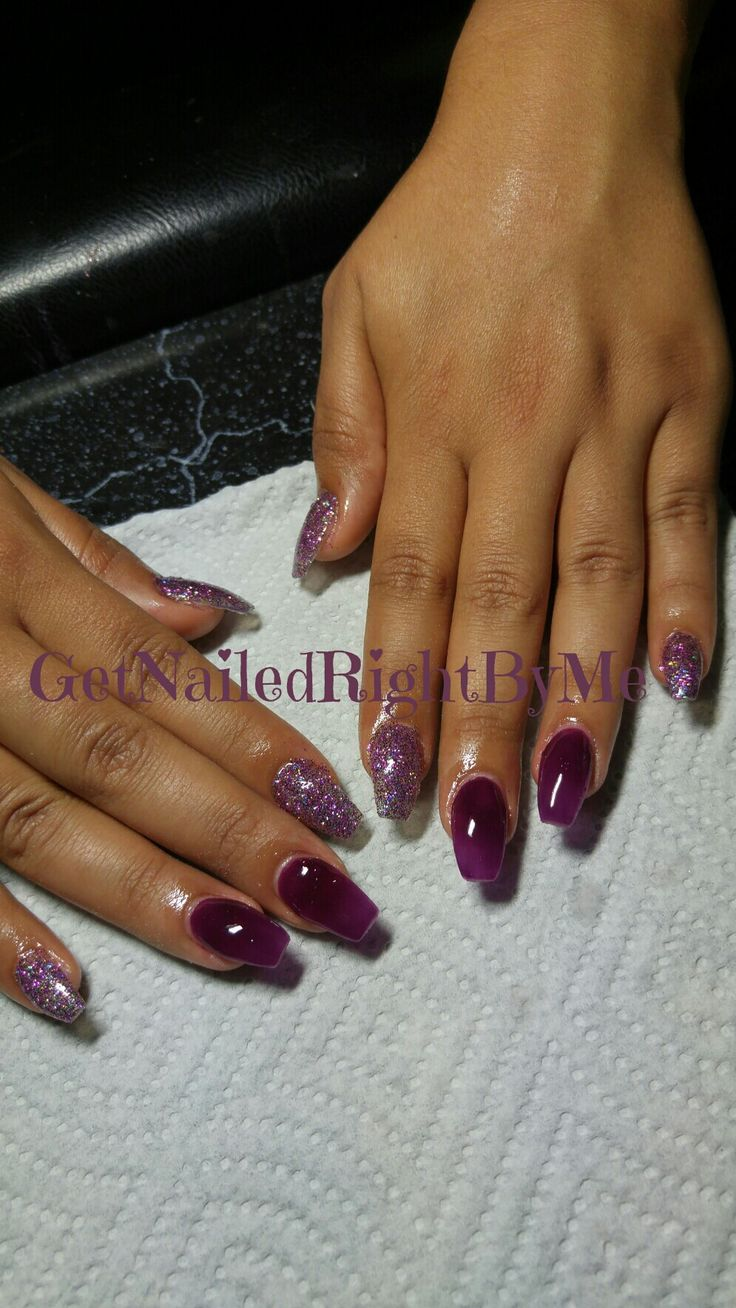 171 best Nails done by me only images on Pinterest | Pretty, Acrylic ...