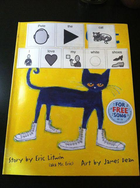 Little Miss Kimberly Ann: Freebie- Pete the Cat: I Love my White Shoes adapted book   Great stepping off point to adapt books!