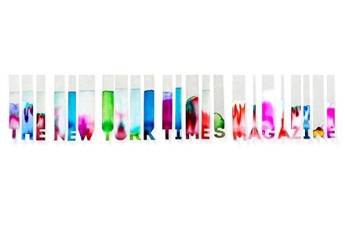 The New York Times Magazine's Logo Reimagined - DesignTAXI.com